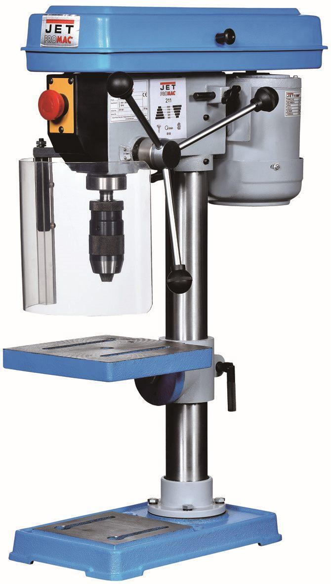 Metalworking Machines - Drill Presses - BENCH-TOP DRILL PRESS JET 211Z